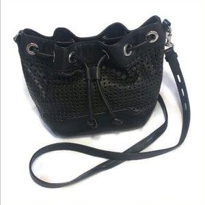 Rebecca Minkoff Fiona Bucket Bag Black